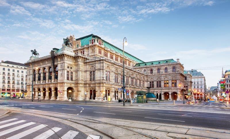 Όπερα της Βιέννης, Αυστρία στοκ εικόνα με δικαίωμα ελεύθερης χρήσης