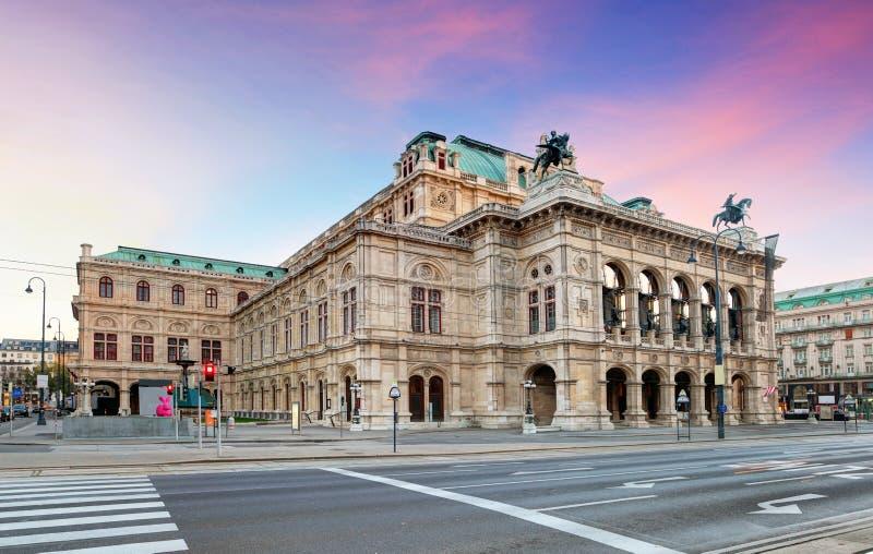 Όπερα της Βιέννης, Αυστρία στοκ φωτογραφία