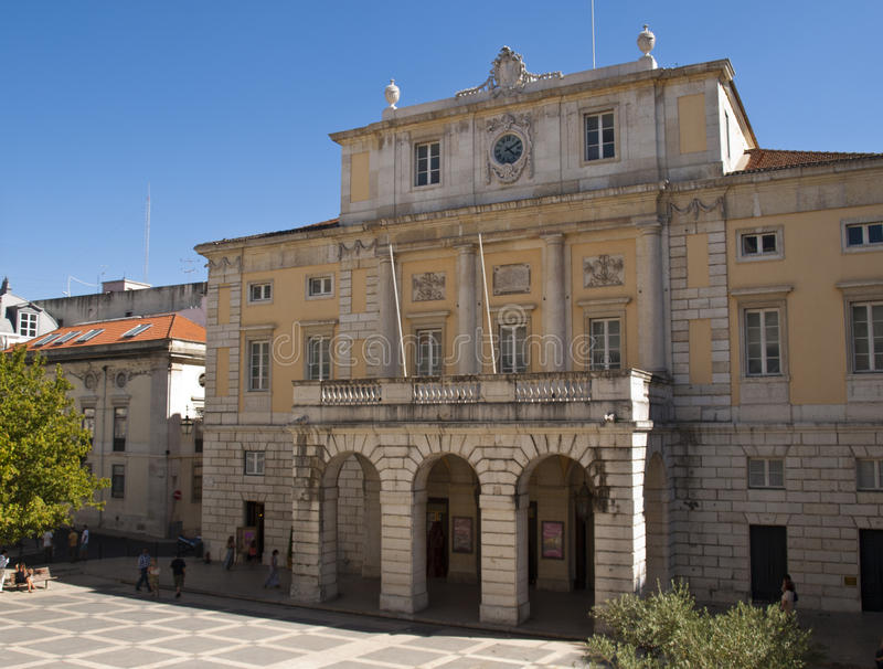 Όπερα της Λισσαβώνας στοκ εικόνες