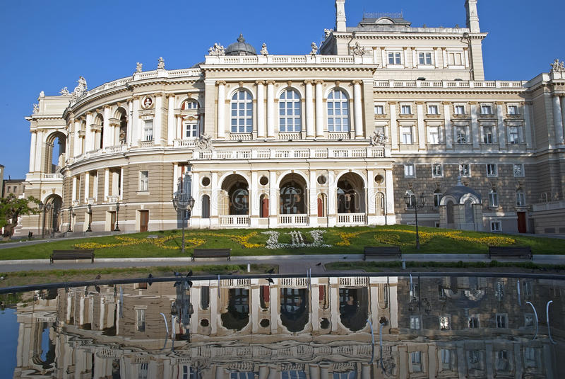 όπερα της Οδησσός στοκ εικόνα με δικαίωμα ελεύθερης χρήσης