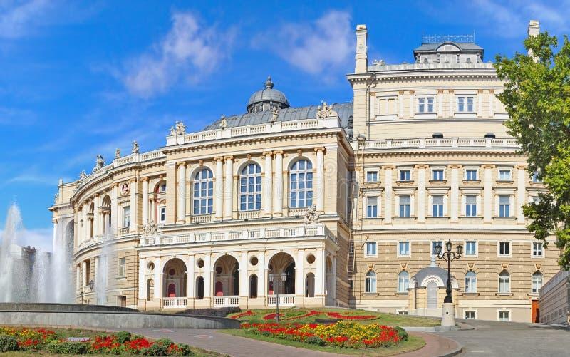 όπερα της Οδησσός στοκ φωτογραφία με δικαίωμα ελεύθερης χρήσης