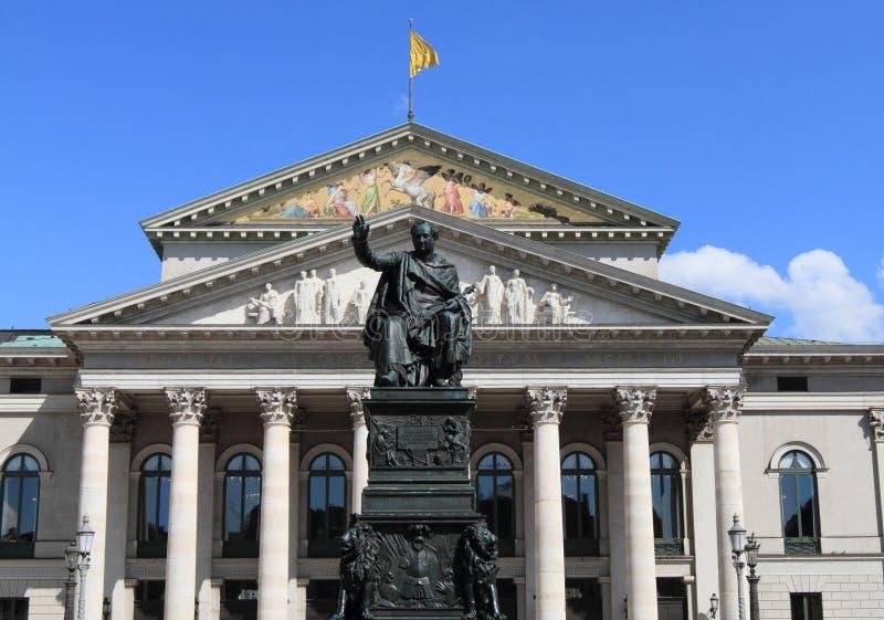 όπερα του Μόναχου σπιτιών στοκ φωτογραφίες