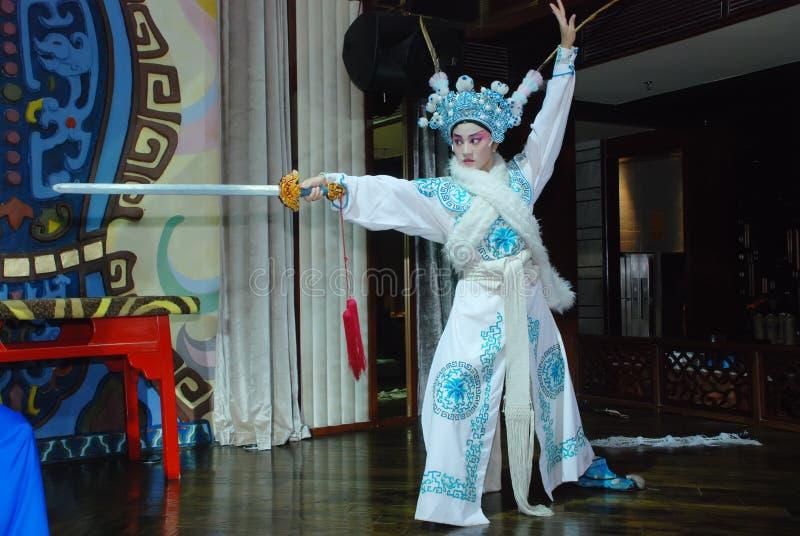 όπερα sichuan ηθοποιών στοκ εικόνες