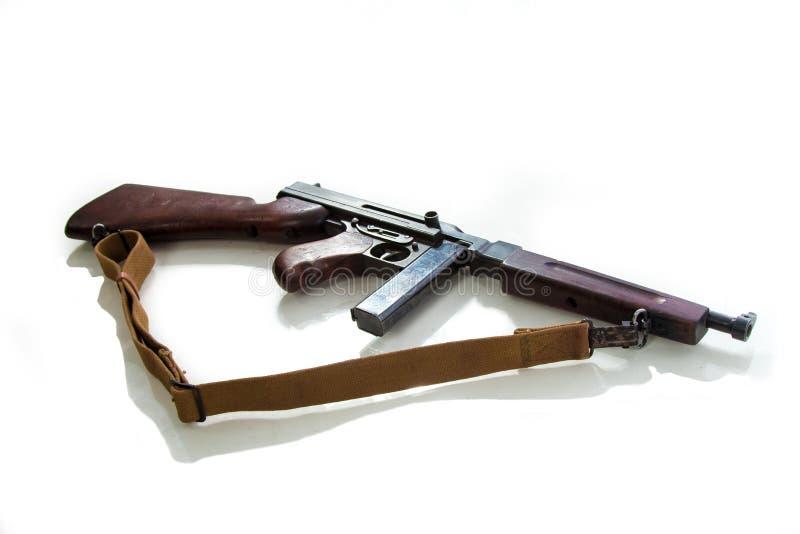 Όπλο ενός αμερικανικού ναυτικού, submachine πυροβόλο όπλο της περιόδου Δεύτερου Παγκόσμιου Πολέμου στοκ φωτογραφίες