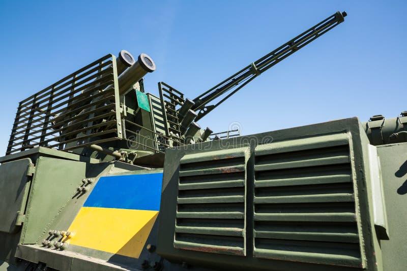 Όπλα για το στρατό της Ουκρανίας στοκ φωτογραφία