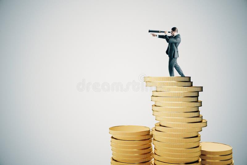 Όραμα και έννοια χρημάτων στοκ εικόνα με δικαίωμα ελεύθερης χρήσης