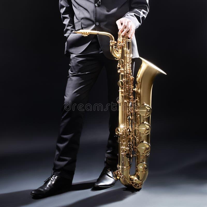 Όργανα της Jazz Saxophone στοκ φωτογραφία με δικαίωμα ελεύθερης χρήσης