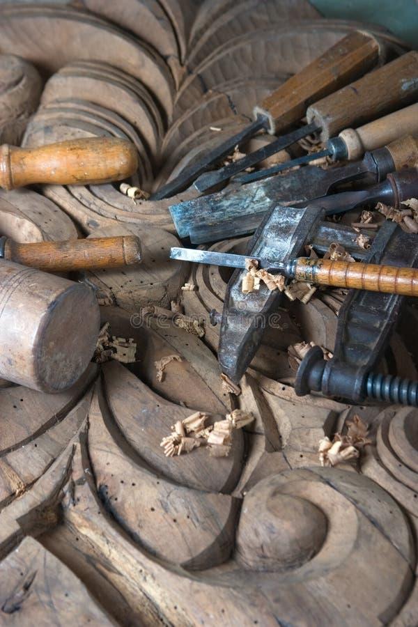 όργανα s ξυλουργών στοκ φωτογραφία με δικαίωμα ελεύθερης χρήσης