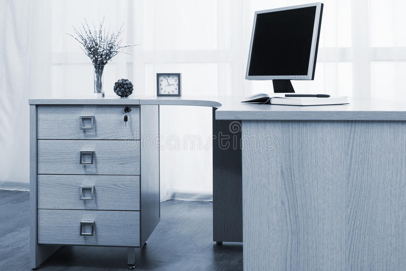 Όργανο ελέγχου στο γραφείο στοκ φωτογραφίες