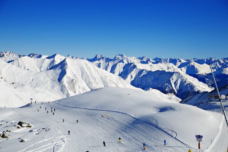 Όρη Ελβετία Αυστρία βουνών στοκ εικόνες