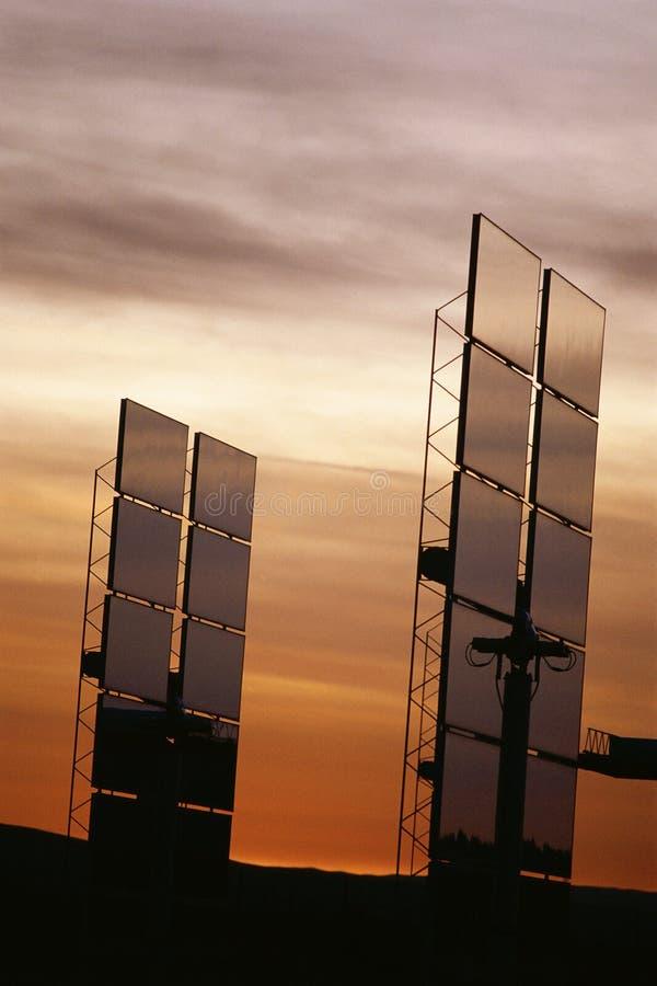 Όρθια ηλιακά πλαίσια στοκ φωτογραφίες