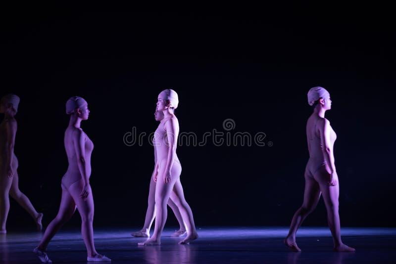 Όρθιος χορός ` περπατώ-Huang Mingliang ` s κανένα καταφύγιο ` στοκ εικόνα