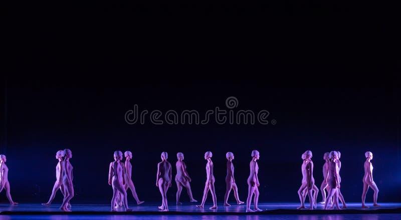Όρθιος χορός ` περπατώ-Huang Mingliang ` s κανένα καταφύγιο ` στοκ φωτογραφίες
