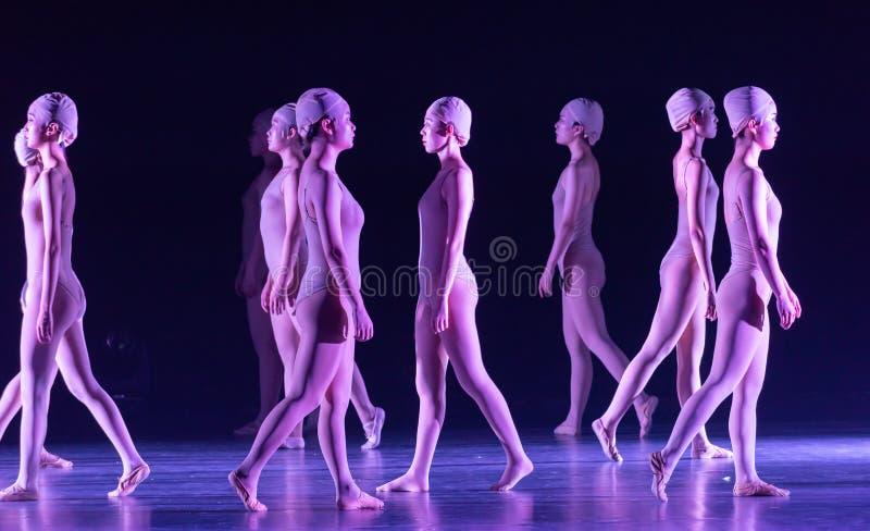 Όρθιος χορός ` περπατώ-Huang Mingliang ` s κανένα καταφύγιο ` στοκ φωτογραφίες με δικαίωμα ελεύθερης χρήσης