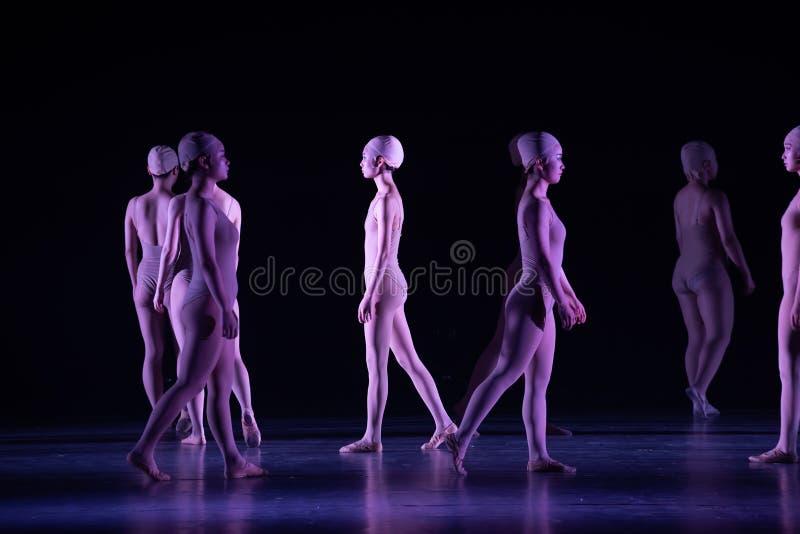 Όρθιος χορός ` περπατώ-Huang Mingliang ` s κανένα καταφύγιο ` στοκ φωτογραφία με δικαίωμα ελεύθερης χρήσης