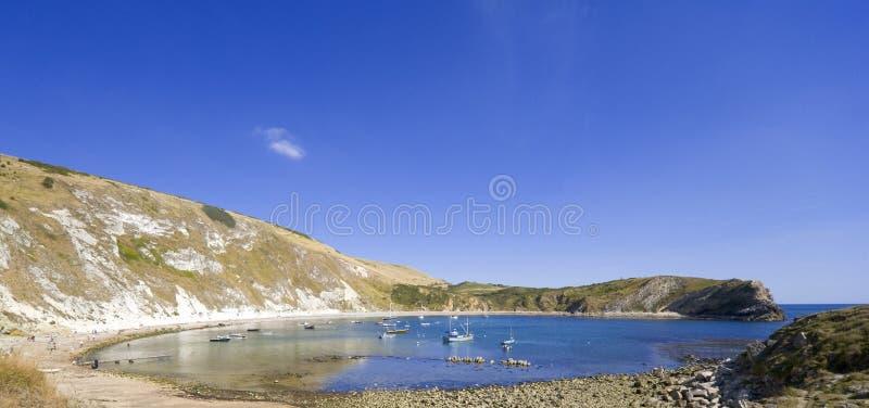 όρμος Dorset Αγγλία ακτών lulworth στοκ εικόνες