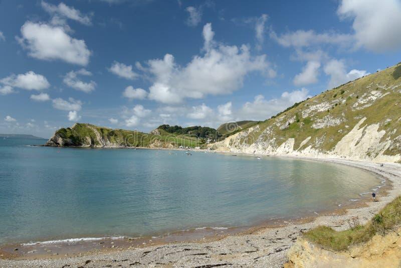 Όρμος Lulworth στην ακτή του Dorset στοκ φωτογραφία με δικαίωμα ελεύθερης χρήσης