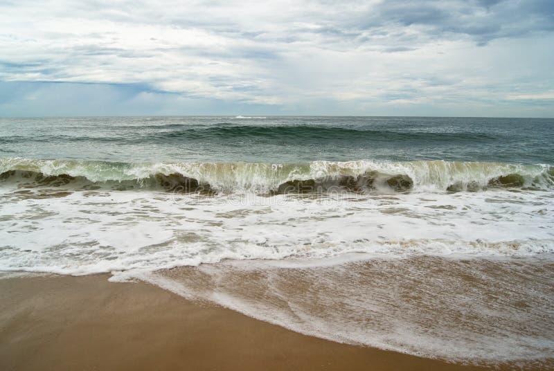 Όταν ο ωκεανός παρουσιάζει όλη ομορφιά του στοκ φωτογραφία με δικαίωμα ελεύθερης χρήσης