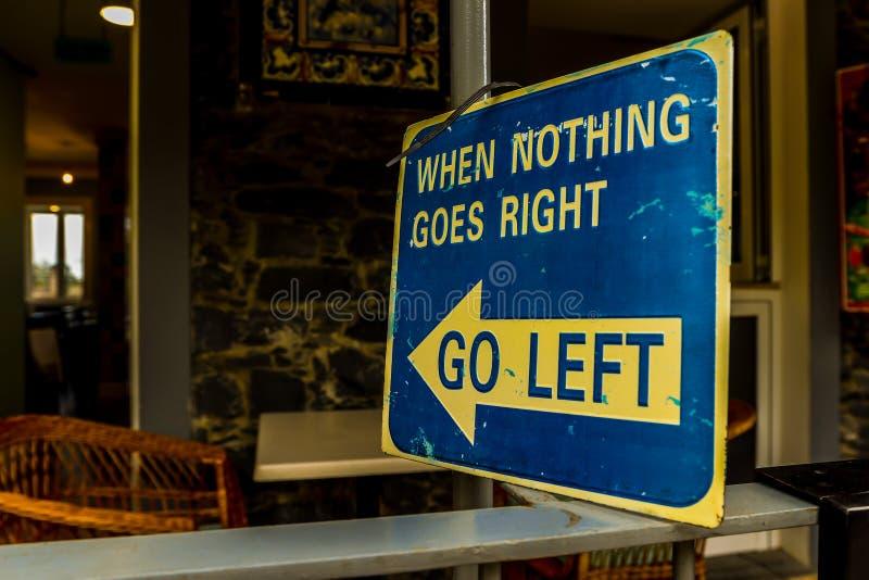Όταν τίποτα δεν πηγαίνει δεξιά - Φουνκάλ στοκ εικόνες με δικαίωμα ελεύθερης χρήσης