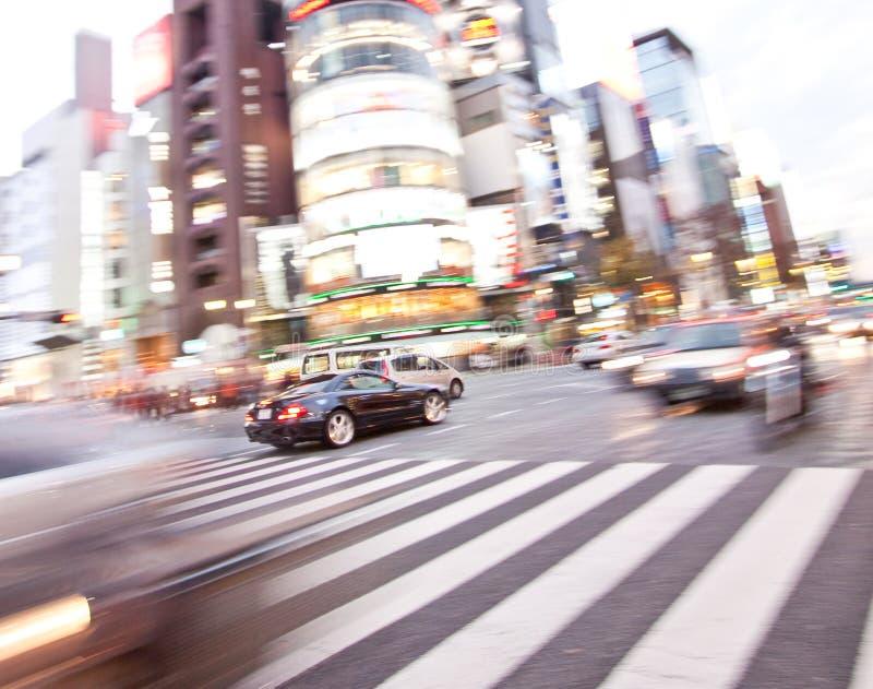 όχημα κινήσεων αυτοκινήτω& Στοκ φωτογραφία με δικαίωμα ελεύθερης χρήσης