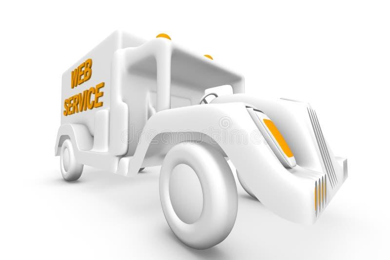 όχημα υπηρεσιών ελεύθερη απεικόνιση δικαιώματος