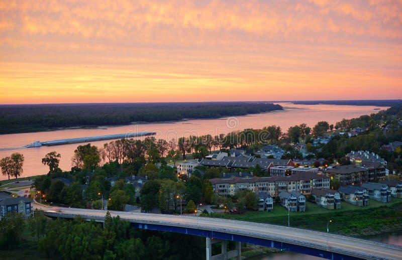Download Όχθη ποταμού της Μέμφιδας στοκ εικόνες. εικόνα από nightlife - 62712230
