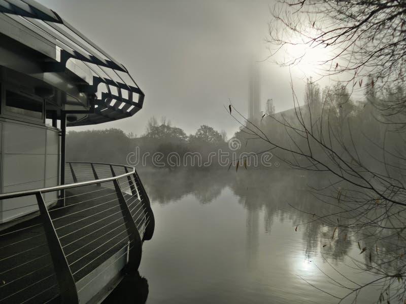 Όχθη της λίμνης Eery στοκ εικόνες