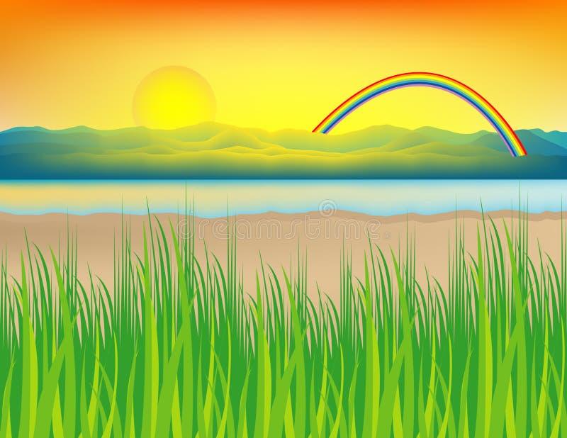 όχθη της λίμνης στοκ εικόνα