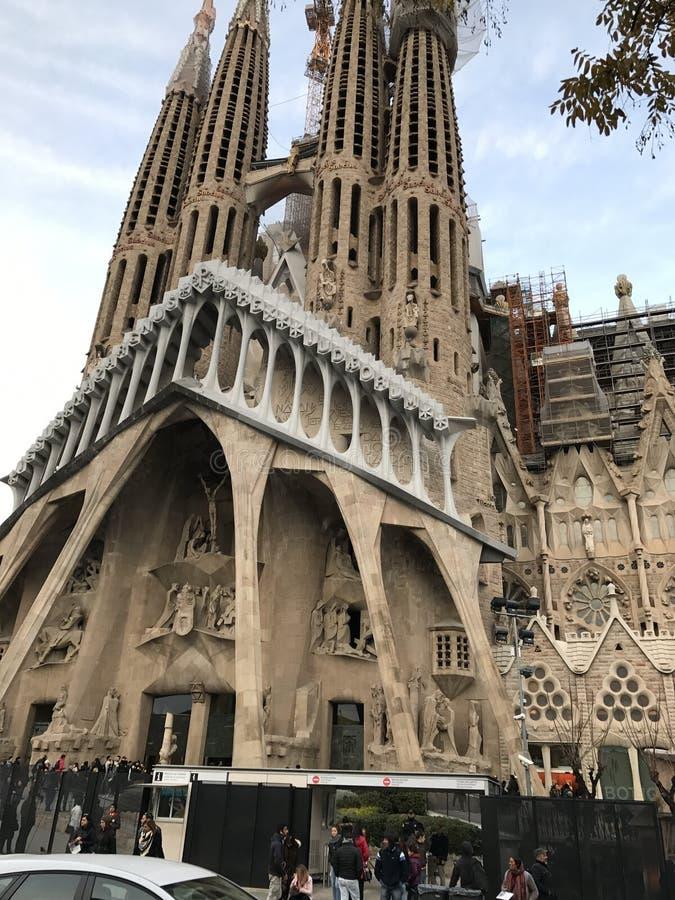 όψεις της Βαρκελώνης στοκ εικόνα με δικαίωμα ελεύθερης χρήσης