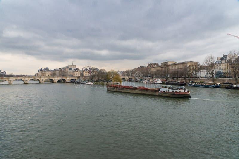 όψη απλαδιών του Παρισιού στοκ εικόνες