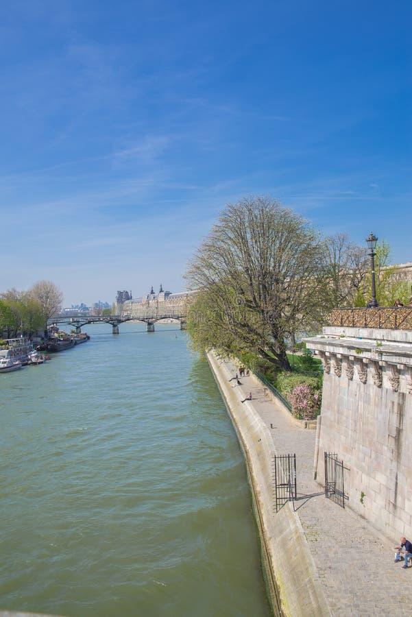 όψη απλαδιών του Παρισιού στοκ εικόνα
