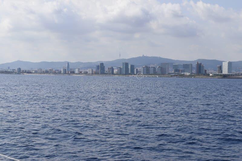 Όψη από τη θάλασσα στοκ εικόνα με δικαίωμα ελεύθερης χρήσης