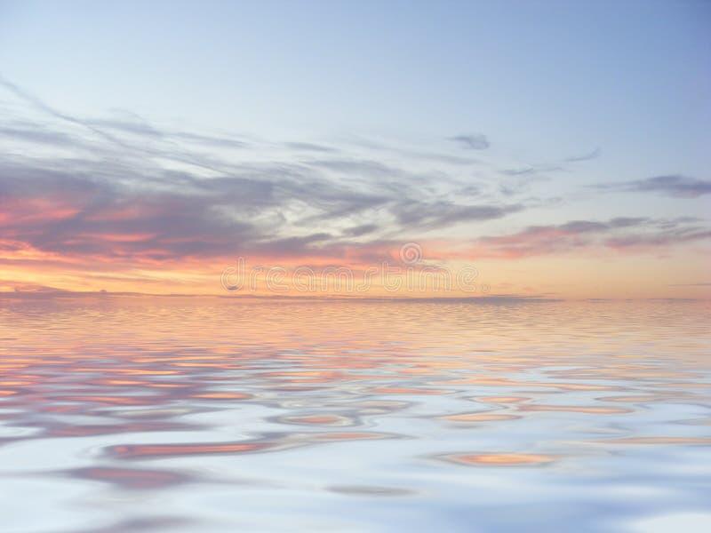 όψη θάλασσας διανυσματική απεικόνιση