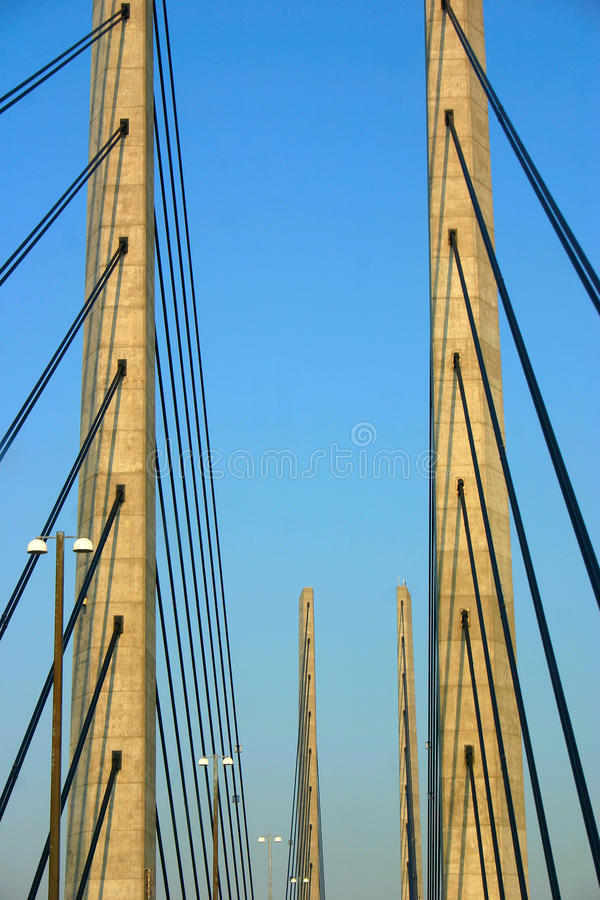 όψη λεπτομέρειας γεφυρών o στοκ εικόνα με δικαίωμα ελεύθερης χρήσης