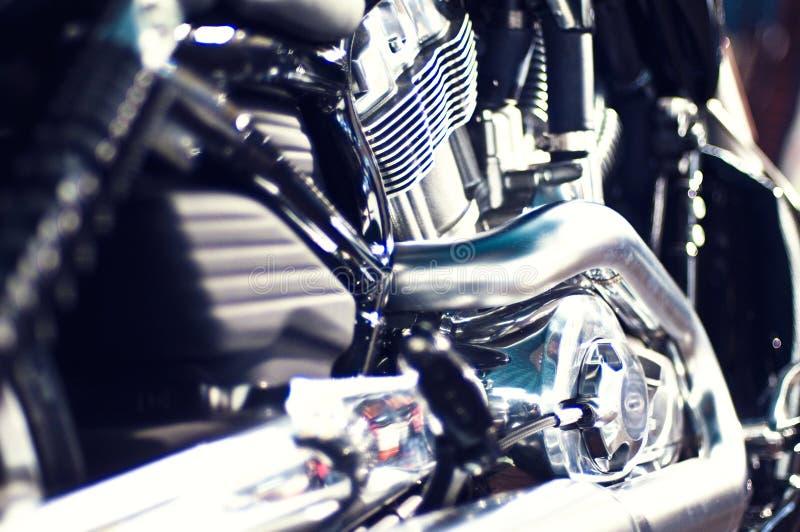 όψη μοτοσικλετών μηχανών γ&omeg στοκ φωτογραφία
