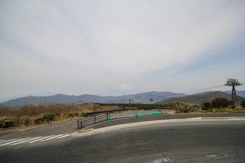 όψη Ουάσιγκτον ΑΜ Φούτζι από Hakone, Ιαπωνία στοκ φωτογραφία με δικαίωμα ελεύθερης χρήσης