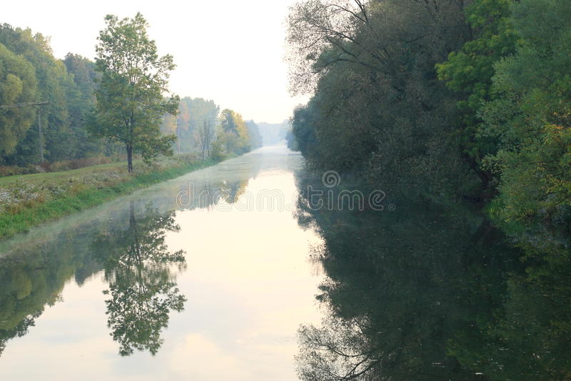 όψη ποταμών στοκ εικόνες