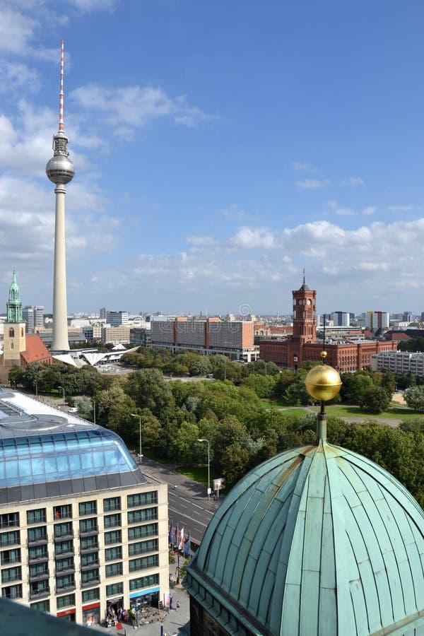 όψη πόλεων του Βερολίνου στοκ φωτογραφίες