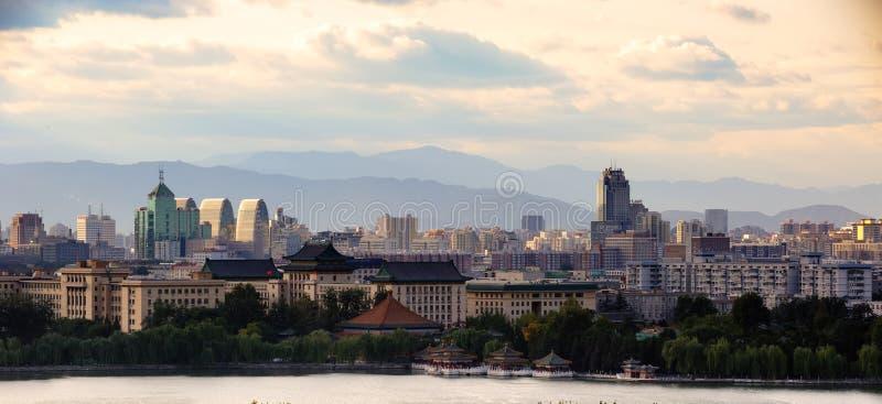 όψη πόλεων του Πεκίνου στοκ εικόνα με δικαίωμα ελεύθερης χρήσης
