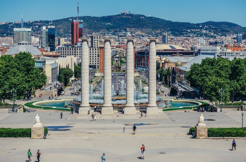 Όψη στη Βαρκελώνη στοκ φωτογραφία με δικαίωμα ελεύθερης χρήσης