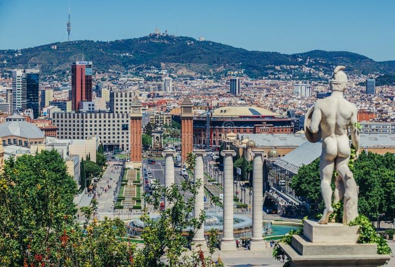 Όψη στη Βαρκελώνη στοκ φωτογραφίες με δικαίωμα ελεύθερης χρήσης