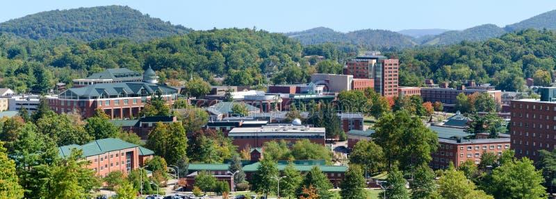 Όψη σχετικά με το της όξινης απορροής κρατικό πανεπιστήμιο στοκ εικόνα