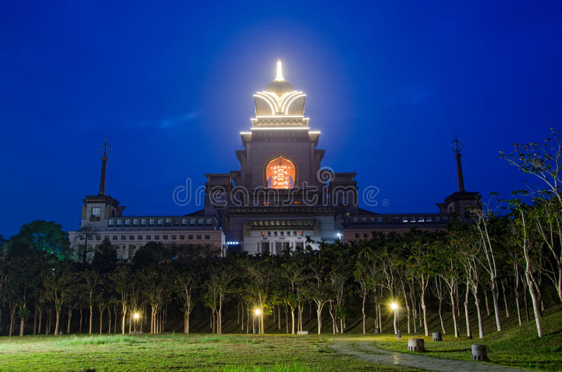 Όψη σχετικά με Chung Tai Chan το μοναστήρι στοκ φωτογραφίες με δικαίωμα ελεύθερης χρήσης