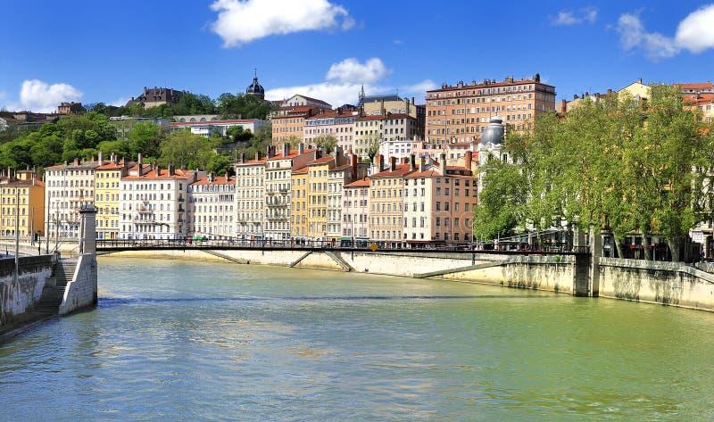 όψη της Γαλλίας Λυών στοκ φωτογραφία