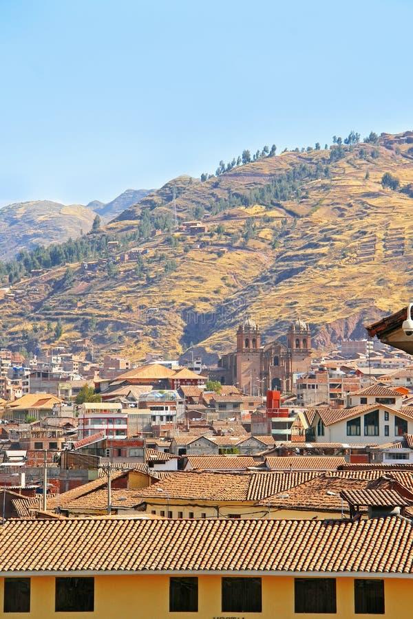 Όψη της ιερής κοιλάδας, Περού στοκ εικόνα με δικαίωμα ελεύθερης χρήσης