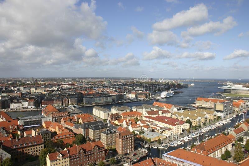 όψη της Κοπεγχάγης στοκ φωτογραφίες με δικαίωμα ελεύθερης χρήσης