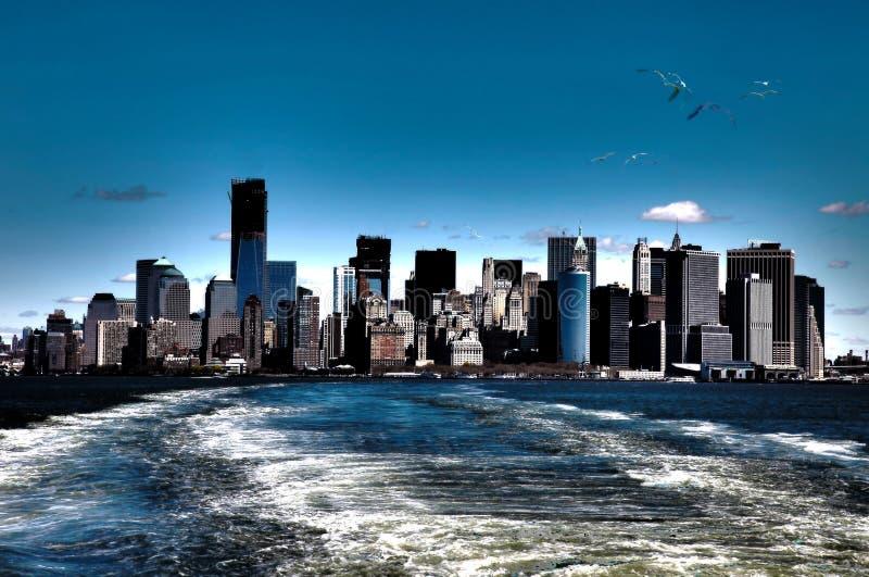 όψη της Νέας Υόρκης στοκ εικόνα