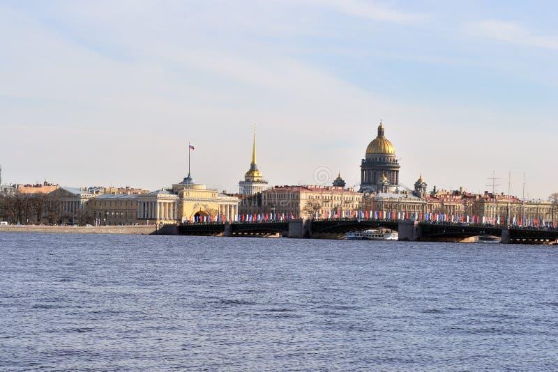 όψη της Πετρούπολης ST στοκ φωτογραφίες με δικαίωμα ελεύθερης χρήσης
