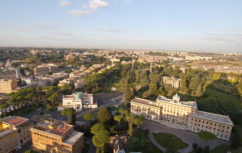 όψη της Ρώμης Βατικανό κατο&io στοκ εικόνες