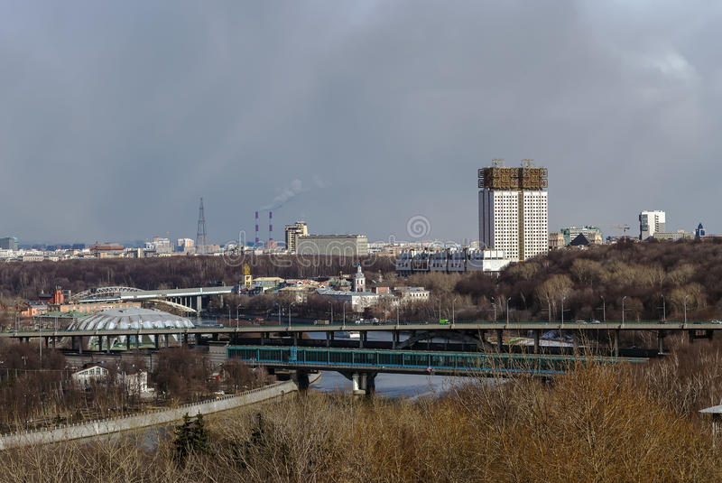 όψη του Κρεμλίνου Μόσχα Ρωσία στοκ φωτογραφία με δικαίωμα ελεύθερης χρήσης